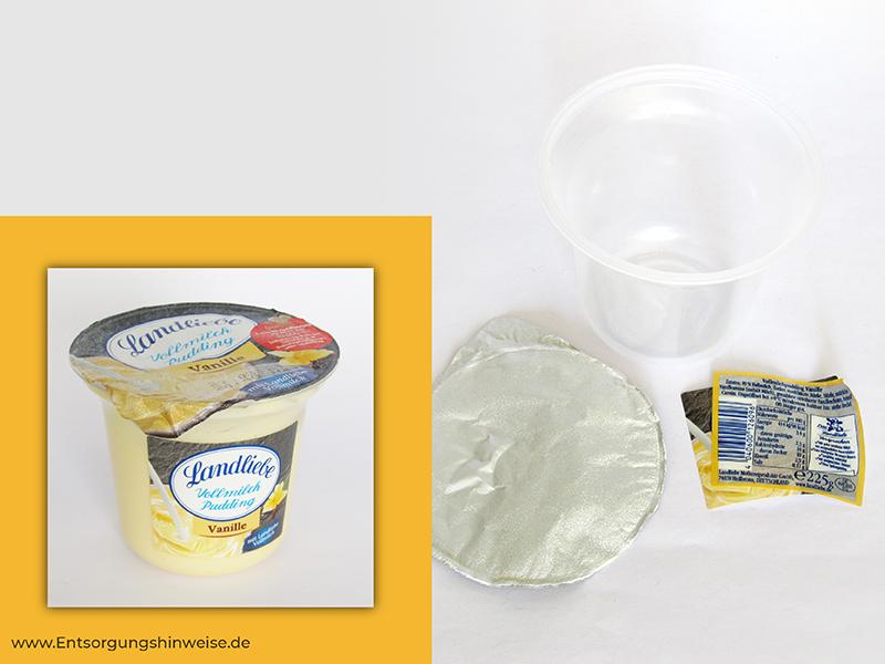 Probleme beim Recycling von Kunststoffen Lebensmittelverpackung