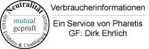 Siegel Neutralität Pharetis.de