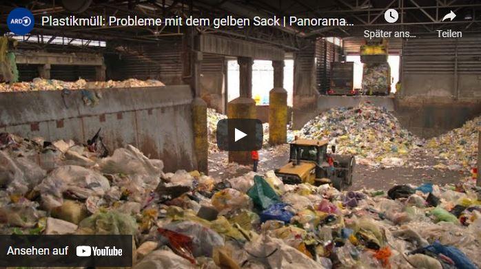 Plastikmüll Recycling in Deutschland